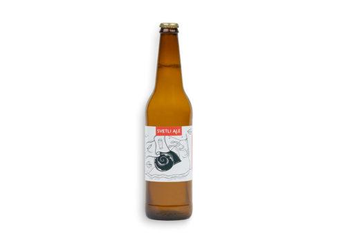 Hišno pivo gostilne Repovž svetli ale