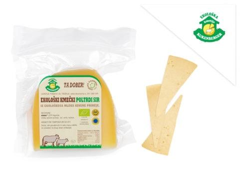 Eko poltrdi kravji sir Ekoloska kmetija Kukenberger skupek