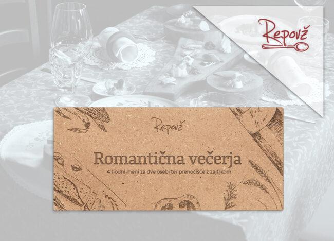 Darilni bon Romanticna vecerja Repovz skupek 2