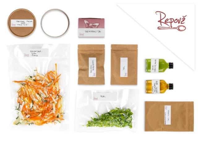 Predpripravljena hrana rizota Repovz skupek