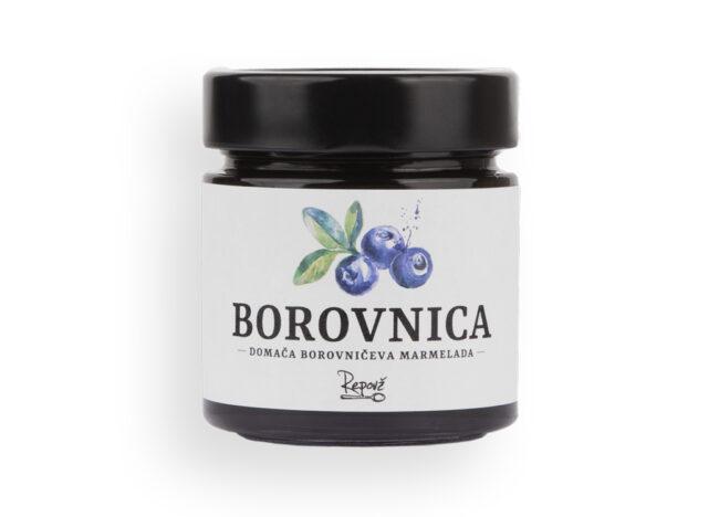 Borovniceva marmelada Repovz 2