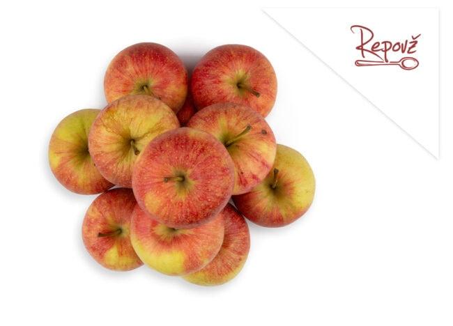 Ekoloska jabolka topaz Repovz skupek