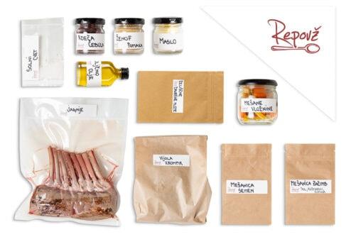Gostilna Repovz predpripravljena hrana jagnje sestavine naslovne