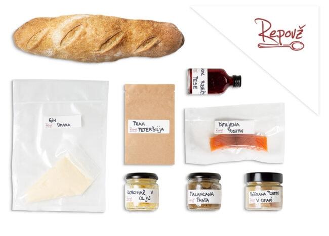 Gostilna Repovz predpripravljena hrana postrv sestavine naslovna